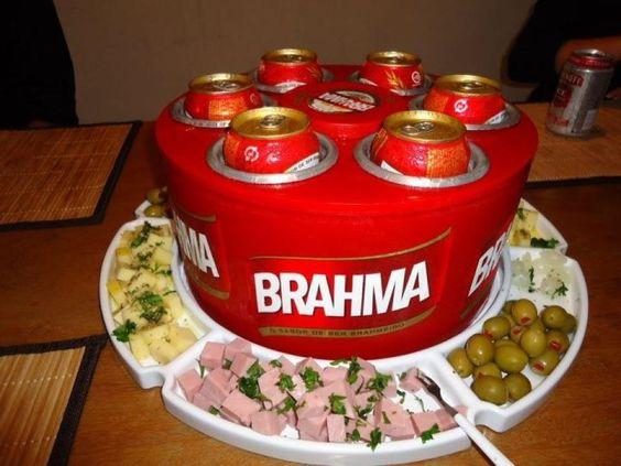 decoracao boteco brahma : decoracao boteco brahma:Cooler De Bebidas 3g Para Latas Cervejas – Brahma Skol – R$ 140,59