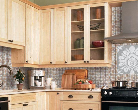 6 Fabulous Unique Ideas Backsplash Kitchen Colorful Inexpensive Backsplash Stencils Wallpaper Backs Maple Kitchen Cabinets Kitchen Design Kitchen Decor Modern
