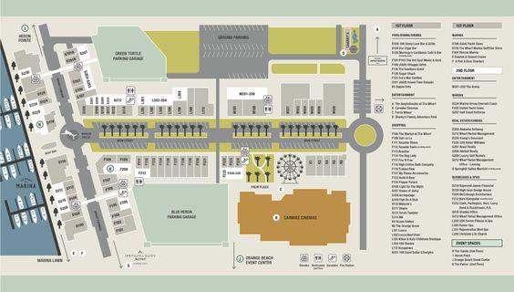 Property Map : The Wharf at Orange Beach