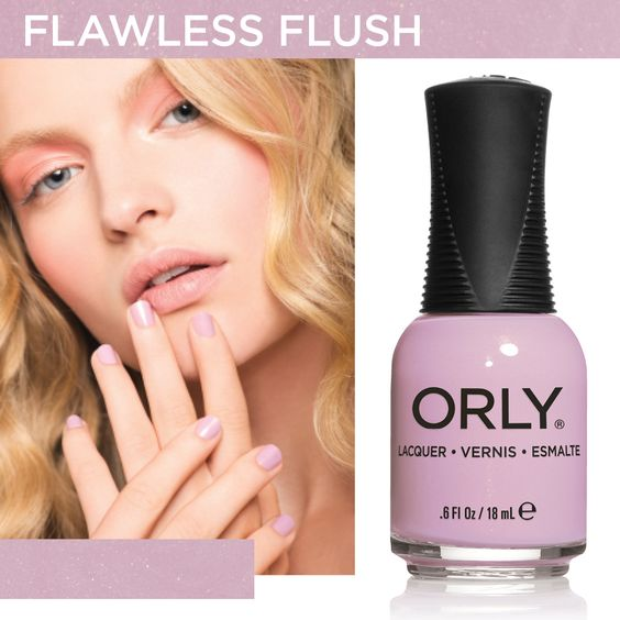 Flawless Flush - Spring 2014 #orlynails #blush