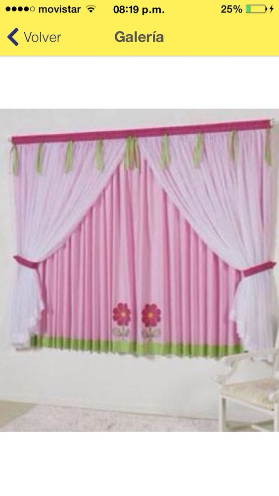 cortinas para cuartos de ni as y ni os bellezas cortinas