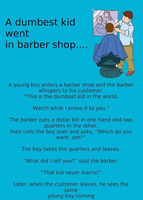 Funny Jokes Funny Ganja Aadmi At Barber Shop Jokes