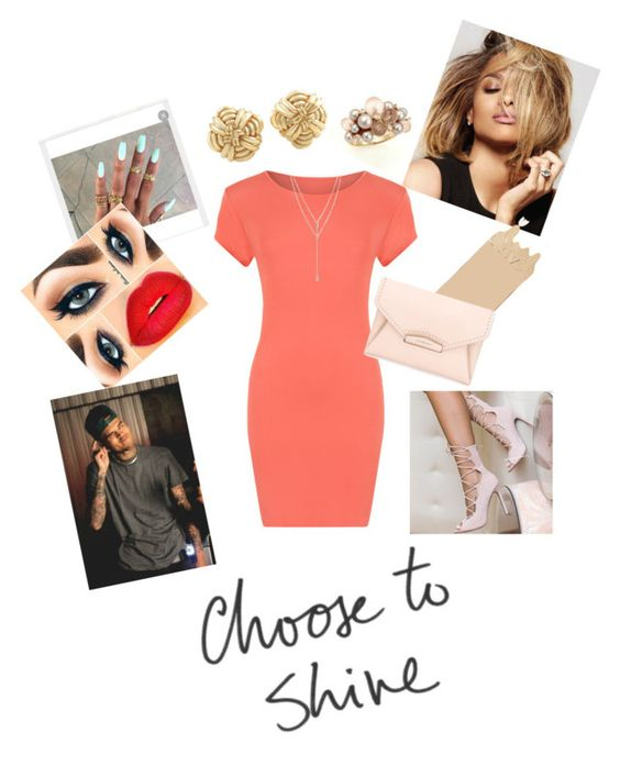 """Choose to shine "" by paigedenaiya ❤ liked on Polyvore featuring WearAll, Marc by Marc Jacobs, Givenchy, Tiffany & Co., Mimí, Vince Camuto and SeductiveRebel"