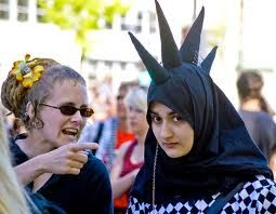 punk muslim girl