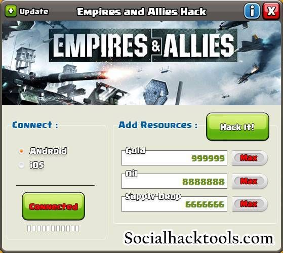Empires,allies hack tool ios and android | small hack for pc and.