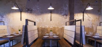 Barrio Chino Edge Design - Walls Texture Tones Environment - Splash of Colour