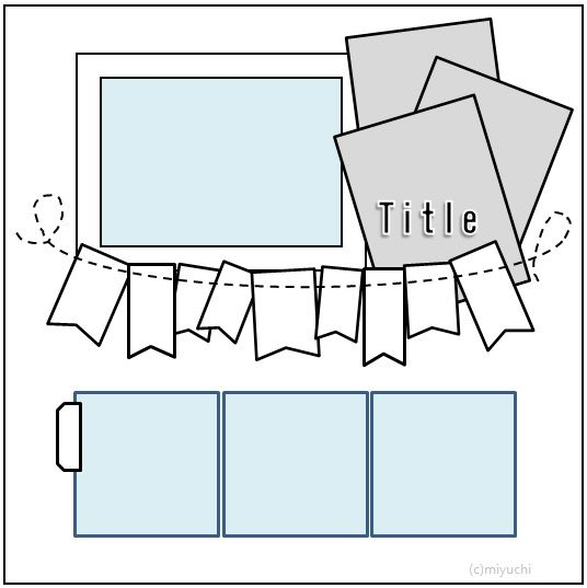 573 Best Scrapbooking Sketches Templates Images On Pinterest