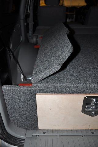 Diy Sliding Drawer System For Toyota Landcruiser 100