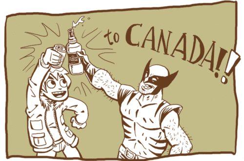 Porque en mi mente Canadá está lleno de canadienses de South Park y este par.