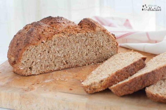Pan de soda irlandés, irish soda bread
