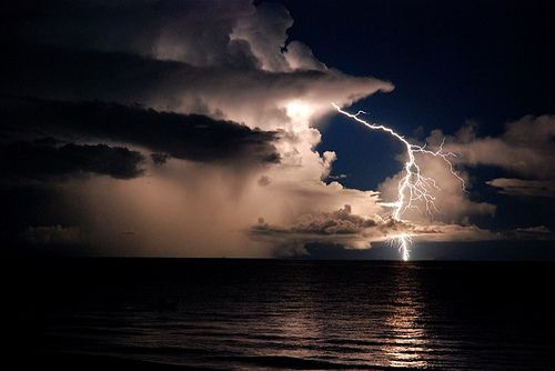nothing like a good storm <3