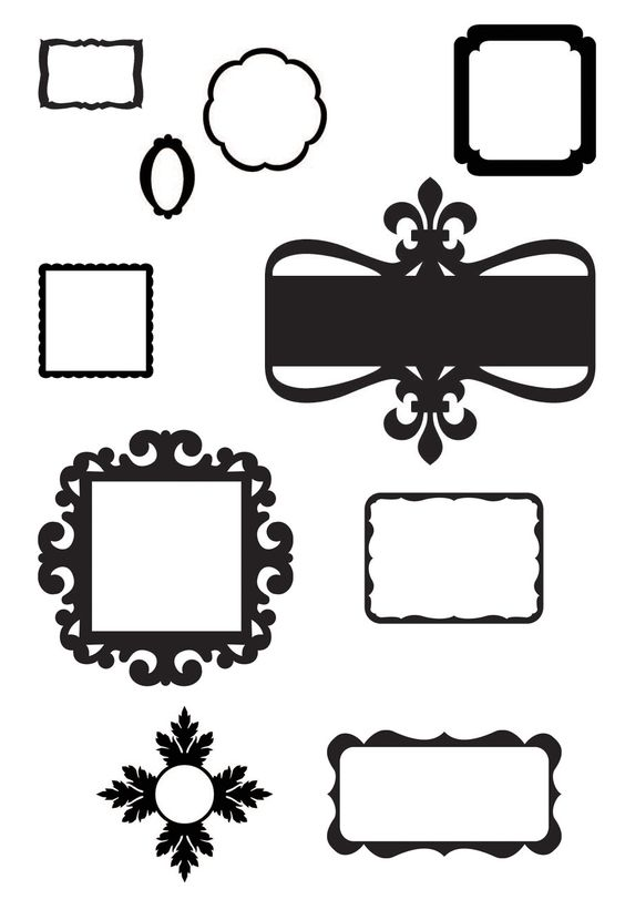 Glasses Frame In Spanish : KLDezign the SVG frames Cricut Pinterest Spanish ...