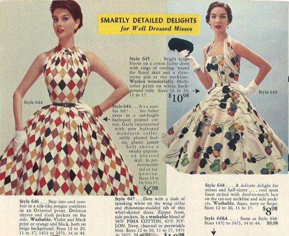 50's summer dresses