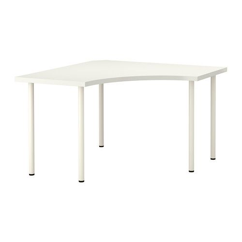White Corner Table from IKEA