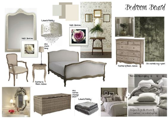 Bedroom mood board which i have just done for the spare room