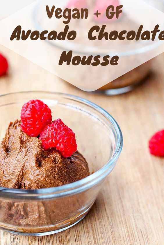 Vegan Chocolate Avocado Mousse (Gluten-Free) | Recipe ...