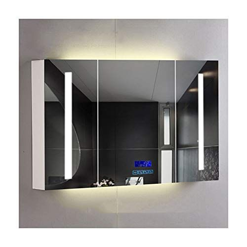 Bathroom Mirror Bathroom Mirror Cabinet Intelligent Modern Waterproofbathroom Cabinet In 2020 Wall Mounted Bathroom Cabinets Bathroom Mirror Cabinet Mirror Cabinets