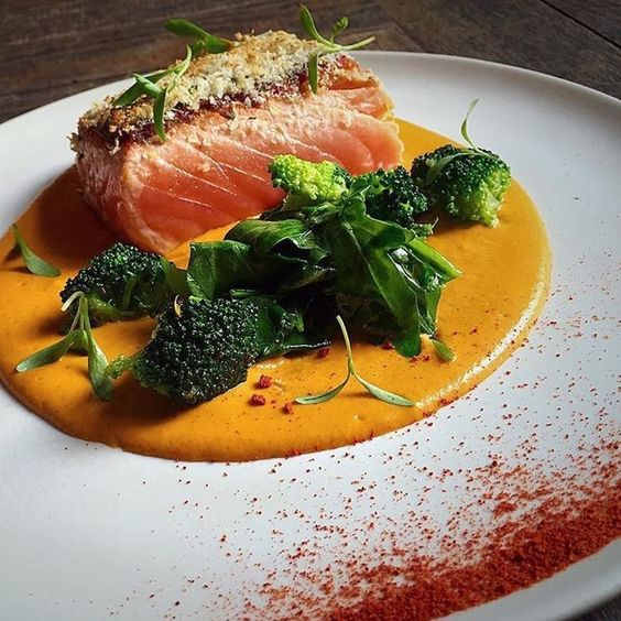 Salmon by @paris.tian - #chefsroll #rollwithus by chefsroll