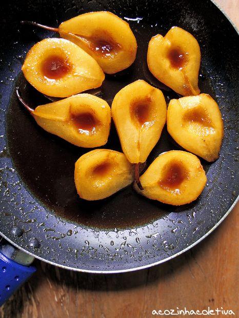 peras cozidas