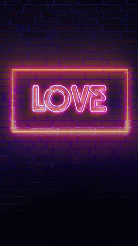 Lion On Fire Iphone Wallpaper In 2020 Neon Signs Pink Neon Wallpaper Pink Neon Sign