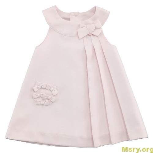 صور فساتين اطفال علي الموضة 2019 تشكيلة رائعة ومميزة موقع مصري Baby Frocks Designs Baby Girl Dresses Kids Frocks