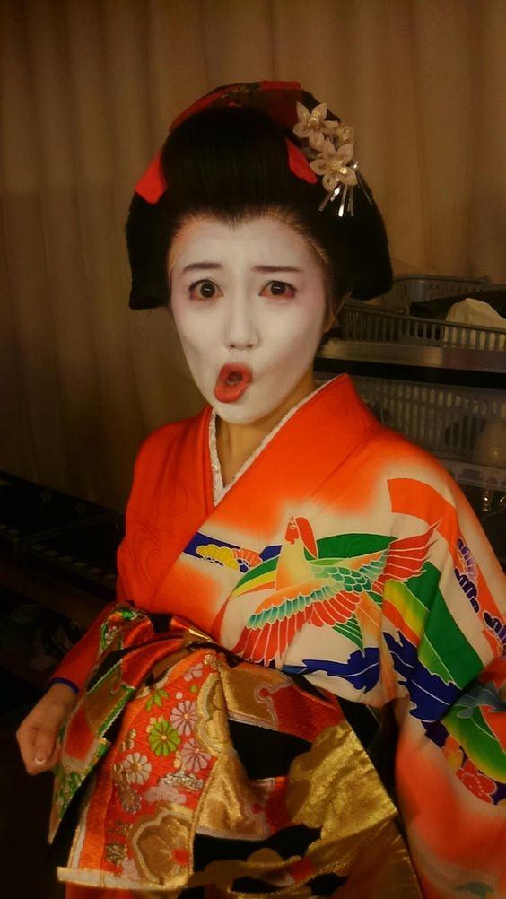 舞妓さん姿の宮崎美穂