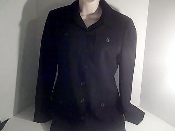 Ralph Lauren Womens Black Petite 4p Coat Jacket Blazer  USA #RalphLauren #Blazer