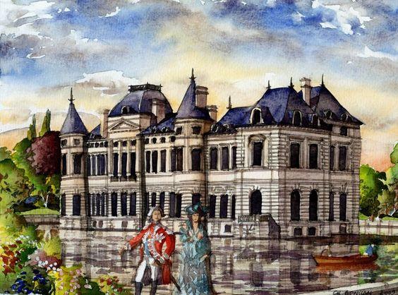 Château d'Ollainville , Michel de Marillac, Charles du Mouceau de ...