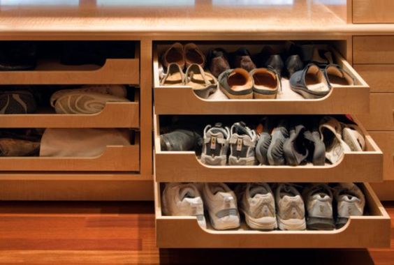 Unexpected, versatile and very practical pull-out shelf storage ideas