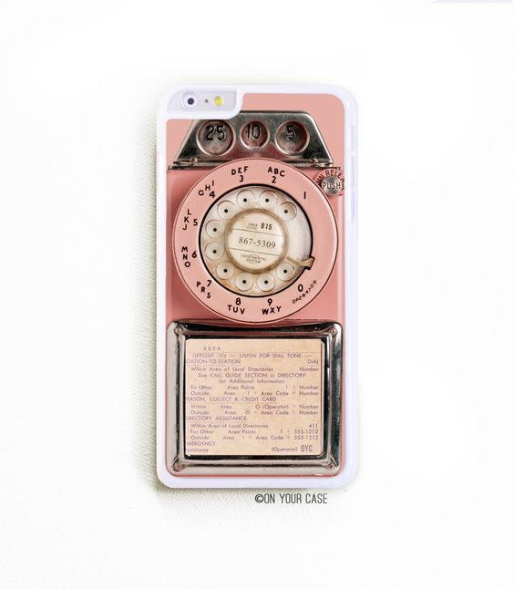 iPhone 6 Plus Case. iPhone 6+ Case. Vintage Pink Payphone. Phone Case. iPhone Case. Phone Cases. 6 Plus Case. Protect your tech in style!  This ultra slim barely there style iPhone case is designed to fit iPhone 6 and simply snaps over your phone. Our covers are designed and printed in our studio using a dye process which actually binds the ink with the surface, resulting in a durable, long-lasting imprint on your custom case! There are openings for your buttons and camera lens. Check out…