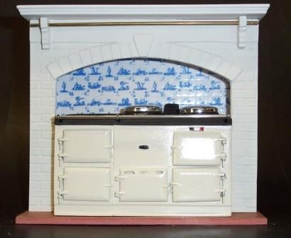 #Miniature #Kitchen Aga
