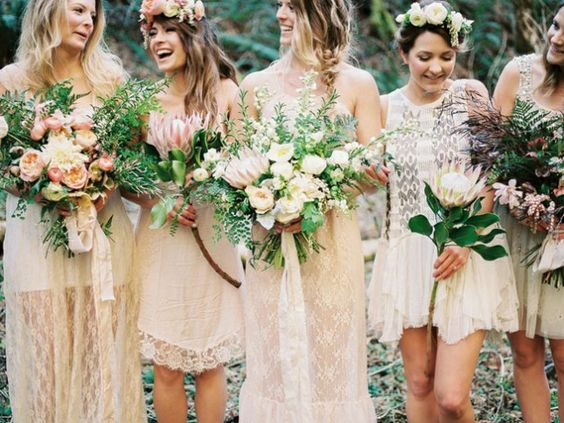 19 Boho Wedding Decor Ideas for Your Spring or Summer Fête via Brit   Co: