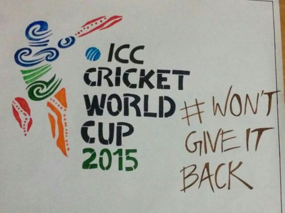 All the best INDIA..