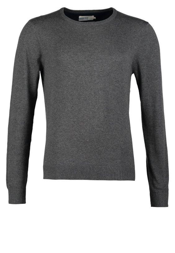 Pier One Strickpullover dark grey melange Bekleidung bei Zalando.de | Material Oberstoff: 100% Baumwolle | Bekleidung jetzt versandkostenfrei bei Zalando.de bestellen!