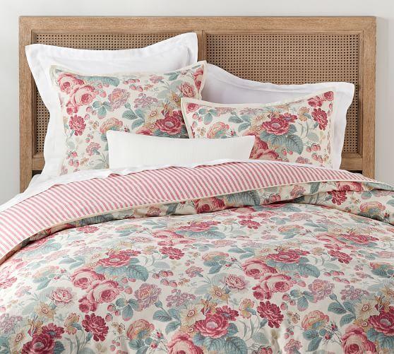 Fl Print Cotton Duvet Cover