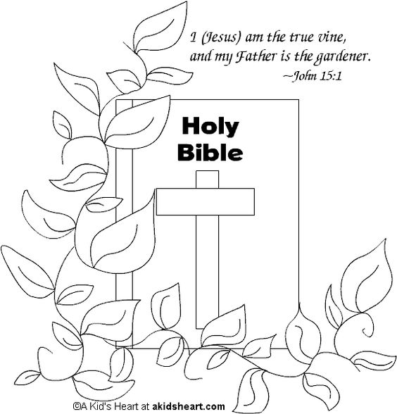 Coloring Book Of Bible Proverbs Verse Pages Memory Printable