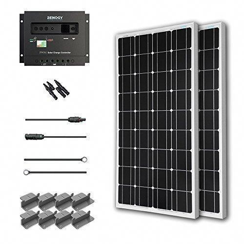 Renogy 200 Watt 12 Volt Monocrystalline Solar Starter Kit Solarenergy Solarpanels Solarpower Solarpanelsfor In 2020 Best Solar Panels Solar Energy Panels Solar Energy