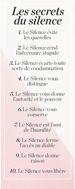 Le Silence Est D Or Voire De Platine Belles Citations