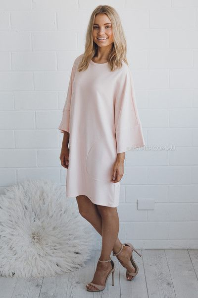 the fifth bright time t-shirt dress parchment - Google Search