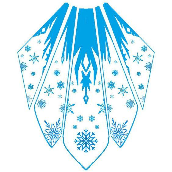 cape elsa reine des neiges reine des neige pinterest reine des neiges neige et design. Black Bedroom Furniture Sets. Home Design Ideas