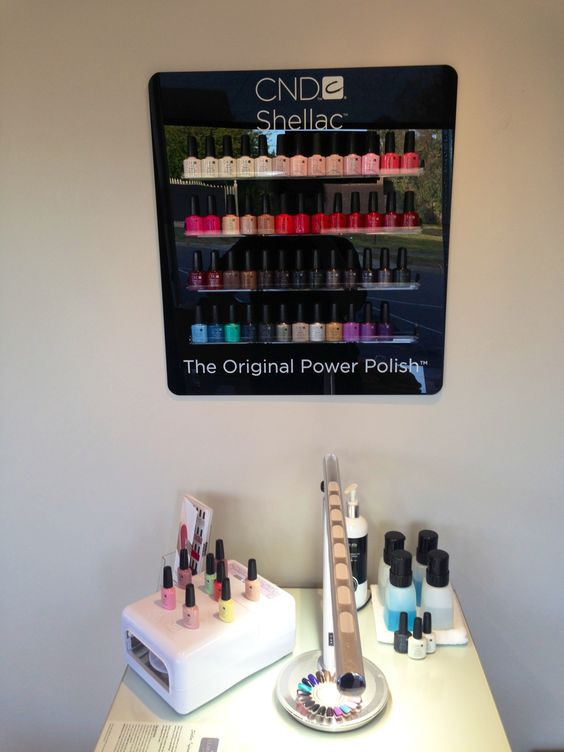 Full CND shellac colour collection @ Claramay Beauty