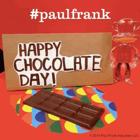 #HappyChocolateDay! Hurry, grab a treat before it's all gone! #chocolate #chocolatelovers #paulfrank