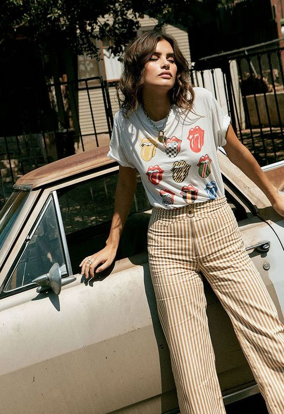 Vintage Band Tees Never Go Out of Style at DayDreamer LA