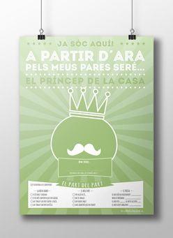 El príncep de la casa - Servilleta de Papel