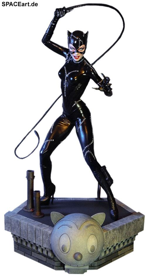 Batmans Rückkehr: Catwoman » Typ: Statue » Hersteller: Tweeterhead » https://spaceart.de/produkte/bm033.php
