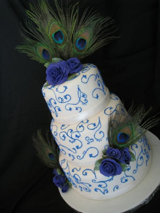 peacock wedding date