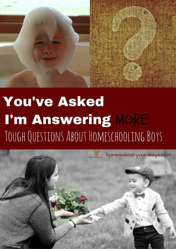 You've Asked I'm Answering - More Tough Questions About Homeschooling Boys