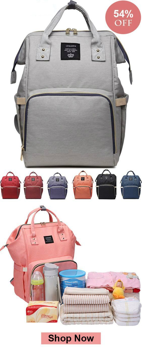 Baby Diaper Nappy Mummy Changing Bag Backpack Set Travel Hospital Nursing Bag UK