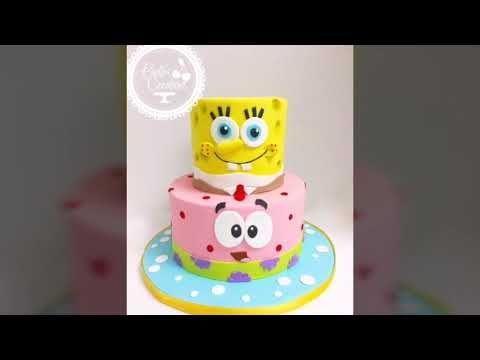 ااجمل صور ولافكار لحفلات سبونج بوب Spongebob Cake Youtube Birthday Enamel Pins