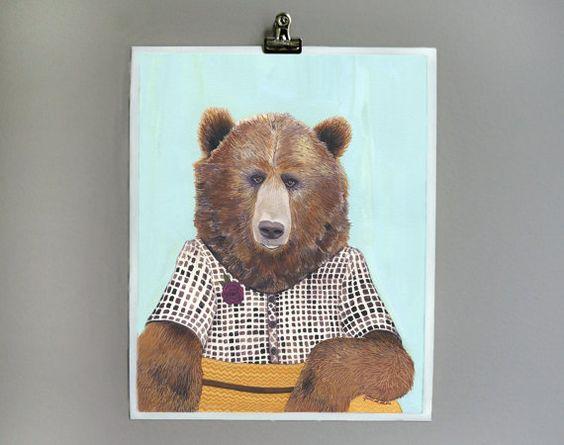 Costumed Animal Prints Uncovet